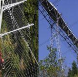 反落ちるネットのためのステンレス鋼ワイヤーケーブルのネット