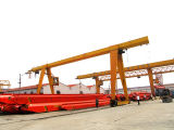 Solo Beam Gantry Crane para Outdoor Use