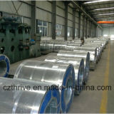 Dipped caldo Galvanized Steel Coil con Normal Spangle