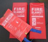 Gute Qualitätsküche-Quadrat-Faser-Glas-Feuer-Zudecke