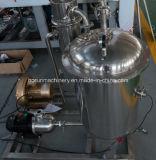Máquina que capsula de relleno del fregado de las botellas del jugo