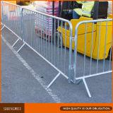 Barrière provisoire de contrôle de foule de construction en métal de concert de sûreté