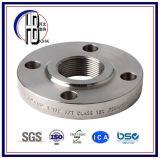 Bride filetée ASME B16.5, ASME B16.47 d'acier du carbone d'embout de durites de prix bas en vente
