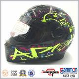 Шлем мотоцикла полной стороны забрал МНОГОТОЧИЯ двойной (FL123)