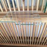 O cerco de canto do chuveiro com ácido de vidro colorido ou geado da impressão gravou vidro Tempered
