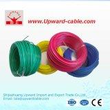 Fil électrique isolé par PVC flexible du câblage 300/500V Rvv de Chambre