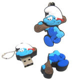 Cute promo promotionnel Cartoon USB Flash Drive