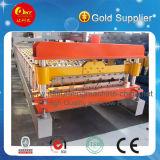 Maquinaria de la hoja de la alta calidad PPGI, rodillo de la azotea del metal que forma la máquina
