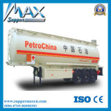 3 Axles 50cbm 60cbmのオイル/Fuel Tanker Trailer