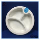 3つの分割の絶縁体の赤ん坊の食事用器具類セット