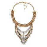 Ожерелье сплава цепи диаманта личности ретро