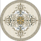 高貴なホテルの装飾デザインのための混合されたカラーウォータージェットの大理石の円形浮彫り