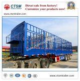 De Chinese de 3-rij van de Fabrikant Omheining/Aanhangwagen van de Vrachtwagen van de Staak