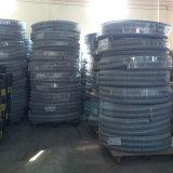 Mangueira transparente da sução da água do pó do PVC, flexível, forte, fabricante