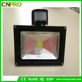安定した品質20W PIRセンサーLEDのフラッドライト