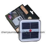 판매를 위한 휴대용 태양 강화된 독서용 램프 작은 팽창식 태양 LED 손전등