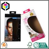 Rectángulo de empaquetado colgante de la ropa interior del papel del cartón de la tabulación del color brillante