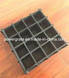 O Grating moldado fibra de vidro de FRP com 3mm rangeu a placa