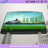 7500CD/M2 광도 P10 옥외 풀 컬러 발광 다이오드 표시 스크린 패널판 공장 광고