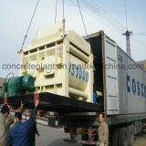 Mélangeur concret mobile d'arbre jumel avec Pumb en vente