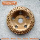 Disco abrasivo del carburo de tungsteno para moler