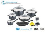Ensemble de cuisson en aluminium non-collant 13PCS Ceramics Whitford