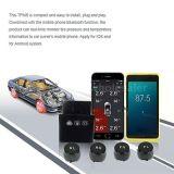 ユニバーサル車DIYの人間の特徴をもつiPhoneのタイヤの金庫のためのTPMS APPはインストールする