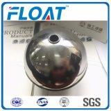 316L bola de acero inoxidable de bola flotante de la Guía A través del agujero