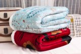 ポリエステルによってSherpaの羊毛毛布の/Babyの印刷される総括的なオオシカ
