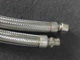 Manguito del metal flexible con la guarnición del NPT