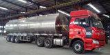 reboque do petroleiro da liga 55000L de alumínio 50 do combustível do petroleiro toneladas de preço do reboque