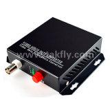1 convertidor óptico video de Digitaces del solo modo del canal