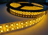 Luz caliente de la cinta del blanco/White/RGB LED de la fila doble 5m/Reel de la tira 5050 de DC12V el 120LEDs/M RGB LED no impermeable