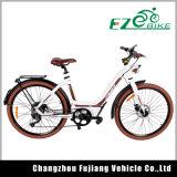 Elektrisches Fahrrad heißes des Verkaufs-weibliches vorbildliches Lithium-elektrisches Fahrrad-36V 250W