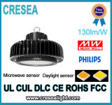 luz elevada do louro do diodo emissor de luz do UFO 150W (lâmpada da recolocação 400W Mh/HPS)