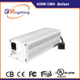 UL에 의하여 목록으로 만들어진 두 배 끝난 630W/600W CMH/HPS는 빛 밸러스트를 증가한다