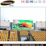 P10 al aire libre a todo color LED que hace publicidad del módulo de la visualización