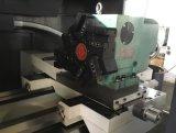 Lathe CNC с плоской кроватью и затвердетым рельсом Ek6140X750
