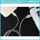 2017 아연 합금 봄 Samsung 인조 인간 /Xiaomi/Huawei 이동 전화를 위한 마이크로 USB 케이블