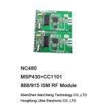 Modulo del ricetrasmettitore del modulo di Msp430 Cc1101 868/915MHz rf