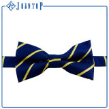 Custom Stripes Woven 100% Polyester Bow Tie
