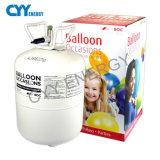 cilindro de gas portable del helio de la presión inferior 50L para los globos