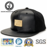 Tampão liso do Snapback novo popular clássico da era do bordado com logotipo do tipo