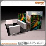 Конструкция и конструкция будочки торговой выставки способа