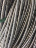 Boyau ondulé flexible en métal d'acier inoxydable