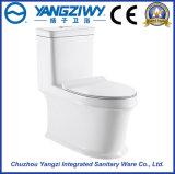 4D de cerámica Estupendo-Hacen girar el tocador siamés del cuarto de baño del sifón (YZ1829)