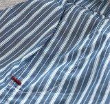 아이 소년 면 줄무늬 여름 형식 우연한 간결