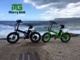 إطار العجلة سمين يطوي شاطئ [250و] درّاجة كهربائيّة