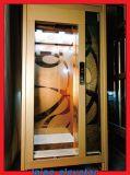 Elevador/elevador da HOME gravura a água-forte do espelho do aço inoxidável