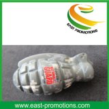 カスタムロゴの印刷体の手榴弾デザインPUの圧力の球